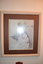 """Margaret Kane """"Day Dreams"""" 18.5x21 Print Of 3 girls 3 PICTURES IN 1 wood frame"""