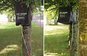 Mil-Tec Solardusche Campingdusche Outdoor Camping Dusche 20/40 Liter