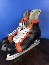Vintage Leather 2-Tone Ice Hockey Skates 1960s*
