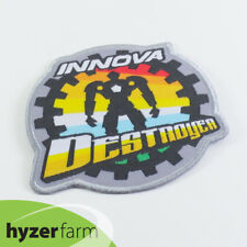 INNOVA DESTROYER LOGO Embroidered Cloth Iron On Patch Hyzer Farm disc golf