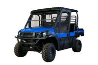 SEIZMIK Soft Full Frame Top Upper Half Doors Door Kit Kawasaki Mule Pro FX FXT