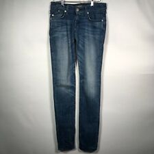 Rock & Republic Women's Sz. 25 Ollie Blue Jeans Skinny Stretch