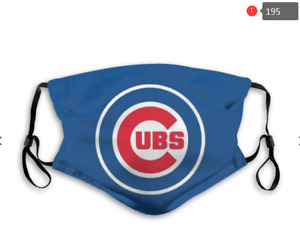 Chicago Cubs Face Mask - Re-useable, Fashionable, Several Styles