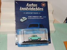 1959 NSU Prinz Diecast Car inolvidables Argentina New Sealed 1/43 USA Seller