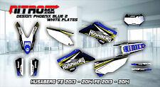 HUSABERG Graphics Kit Decals Design Stickers TE FE 125 250 350 450 2013 - 2014