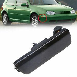 Car Front Bumper Right Side Black Corner Light For VW Jetta Golf MK4 99-05