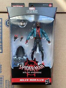 Marvel Legends Spider-Man Into The Spider-Verse Stilt-Man BAF Wave Miles Morales