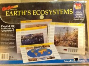 GEO SAFARI EARTH ECOSYSTEM. COMPLETE SET