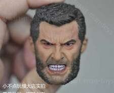 custom angry 1/6 scale Head Sculpt Logan Hugh Jackman old age Wolverine 3 X-Men