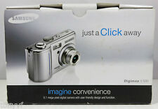 Samsung Digimax S500 5.1MP Digital Camera - Silver - Missing Software CD