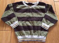 Baby Boys Next Striped Jumper Size 12-18 Months