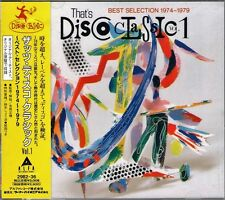 THAT'S DISCO CLASSIC VOL 1 (1989 Japan CD) SEALED ~ Carl Douglas, Richie Family