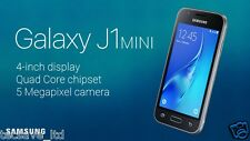 Brand NEW SAMSUNG GALAXY J1 MINI DUAL SIM * 2016 * 8GB SMARTPHONE j105h / DS-Nero