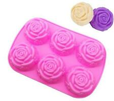 Soap Mold Rose Flower Silicone Flexible