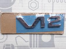 Original Mercedes Schriftzug / Typkennzeichen V12 für W140 600SE 600SEL NOS!