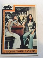 1977 Topps Charlie's Angels #124 Going Over A Case