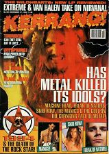 Mike Tramp of Freak of Nature on Kerrang Cover 1994     Faith No More   The Cult