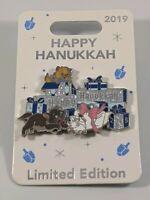 Disney Pin Trading Happy Hanukkah 2019 Aristocats Marie Limited Edition Pin