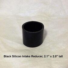 2.0 x 2.25 45 degree bend 4 ply KFX450 Black Silicon Intake Coupler Elbow