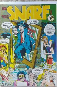 SNARF #3 NM- 9.2 KITCHEN SINK 1973