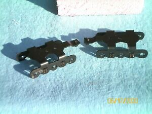 "AMERICAN FLYER by Ficus Products Tm ""S""gauge (1) pair- 3 axle (8) spring trucks"