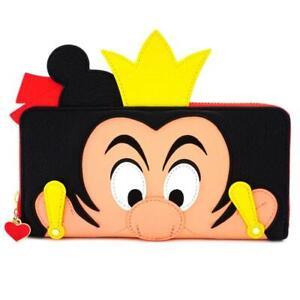 Loungefly Queen Of Hearts Wallet Purse. Disney Alice In Wonderland