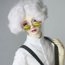 Gold Round Sunglasses glasses For 1/6 11in 27CM YOSD AOD LUTS DK DZ  BJD Doll