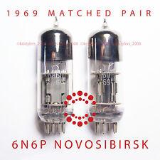 1969! 6N6P 6N6 ECC99 E182CC Power Tubes Little Dot Amp Mk III 2PCS