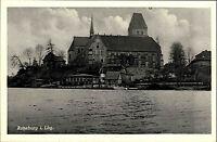 Ratzeburg Lauenburg Schleswig-Holstein alte s/w Postkarte ~1940 Teilansicht AK