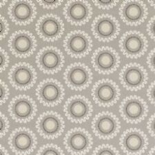 Clarke and Clarke Ebba Taupe Floral Design Curtain Upholstery Craft Fabric