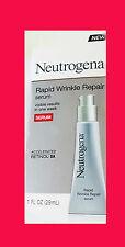 Neutrogena Rapid Wrinkle Repair Serum, with Hyaluronic Acid, NIB, unisex