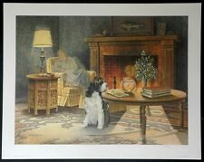 """Animals-Cats & Dogs-James Lumbers-""""Cat Napping""""-L/E-S/N Lithograph-Art-Prints"""
