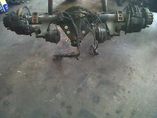 Iveco 75e15 rear axle complete second hand  see our shop for more cargo parts