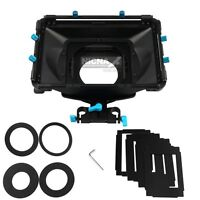 FOTGA DP3000 M2 DSLR matte box sunshade w/ donuts filter trays f 15mm rod rig