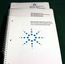 Hp Esg Family Generators Opt. 100-Und-Un5- 201 Manual