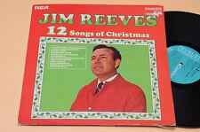 JIM REEVES LP 12 SONGS OF CHRISTMAS