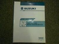 1996 1997 1998 Suzuki Swift Wiring Diagram Service Supplement Manual Ebay