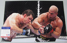 TITO ORTIZ & FORREST GRIFFIN Dual Hand Signed 12'x18' Photo + PSA DNA COA K67725