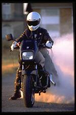 631028 Suzuki 1100 CC Turbo Smoking Its Rear Wheel A4 Photo Print