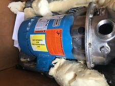 Gampl Gould Npe Centrifugal Pump 12 Hp Stainless 1st1c5f4c Emerson Bv20a New