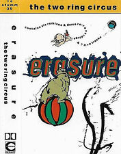 Erasure The Two Ring Circus CASSETTE ALBUM Electronic Synth-pop Mute LC STUMM
