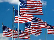 Wholesale lot 144 Usa Stars and Stripe Flags Flag Banner 3' x 5' 3x5 Super Poly