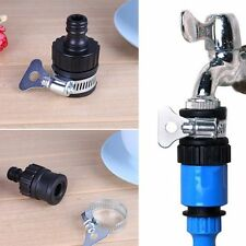 Universal Tap To Garden Hose Pipe Connector Mixer Adapter Kitchen In/Outdoor