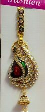 Jooda Juda KeyChain Traditional Multicolour Partywear Kundan Peacock Saree Waist