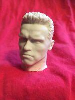 1/6 Dragon Did Kopf Head Arnold Schwarzenegger Terminator T-800 Custom Unbemalt