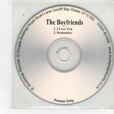 (FU54) The Boyfriends, I Love You / Remember - DJ CD