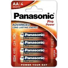 4 x Panasonic AA Gold PRO POWER Premium Alkaline 4 Pack LR6 Batteries - LR6PPG