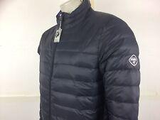 PUFFA Puffer NO HOOD men's boss ultra light bubble down jacket L 42/44 blue new