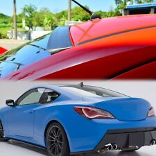 UNPAINTED FOR GENESIS 2DR 2013-2015 COUPE REAR ROOF SPOILER WING R-Spec JDM VIP