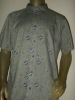 Men's XL Gray NASA Constellations Space Stars Astronomy Science Zodiac Shirt NEW